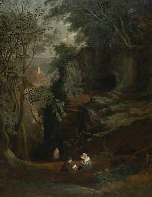 Landscape Near Clifton Art Print by Francis Danby