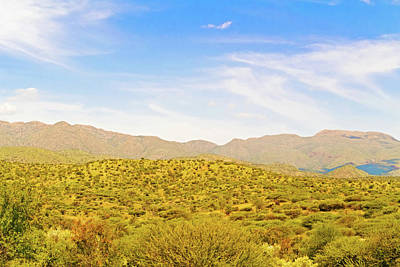 Landscape Near Windhoek In Namibia Art Print