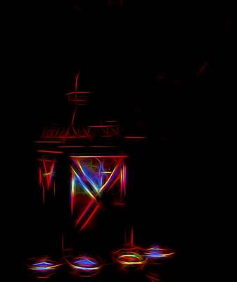 Lantern Art Print by Angela Aird