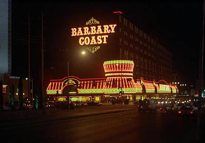 Glitter Gulch Photograph - Las Vegas 1980 #5   by Frank Romeo