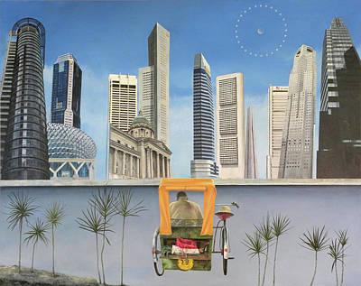 Last Dim Sum In Singapore Art Print by Tibone Buffalomeat