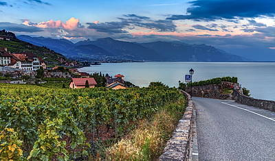 Photograph - Lavaux Region, Vaud, Hdr by Elenarts - Elena Duvernay photo