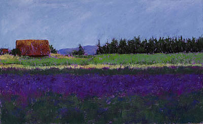 Lavender Farm Original by David Patterson