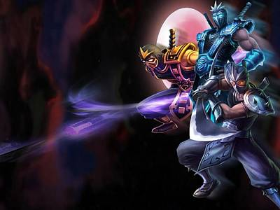 Fractal Digital Art - League Of Legends by Super Lovely