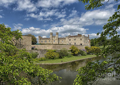 Palace Of The Normans Photograph - Leeds Castle, England Uk by Ivan Batinic