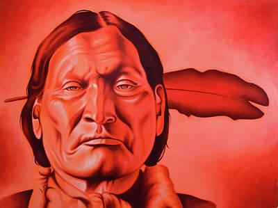 Robert Martinez Painting - Left Hand by Robert Martinez