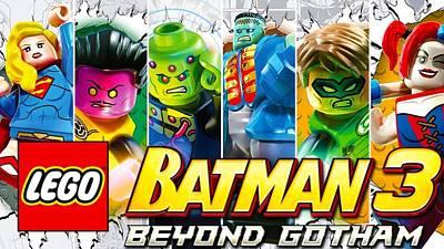 Pop Art Digital Art - Lego Batman 3 Beyond Gotham by Super Lovely