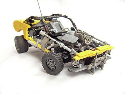 Car Digital Art - Lego by Super Lovely
