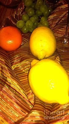 Pyrography - 2 Lemons by Oksana Semenchenko