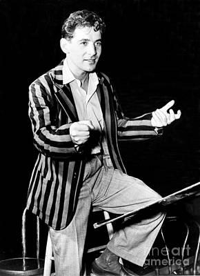 Leonard Bernstein, American Composer Art Print