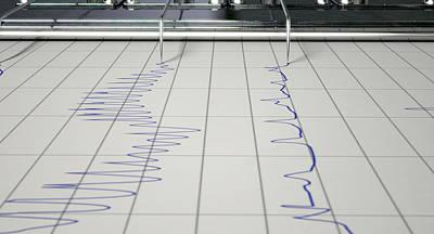 Lie Detector Test  Art Print