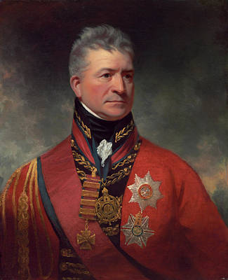 Painting - Lieutenant-general Sir Thomas Picton by Sir William Beechey