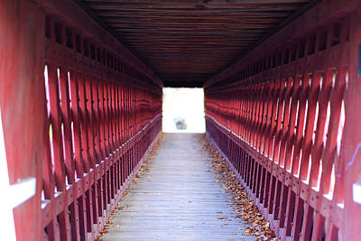 Photograph - Light At The End Of The Tunnel by Dan Poirier