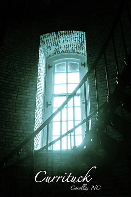 Photograph - Light Through The Currituck Window - Text by Joni Eskridge