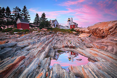 Photograph - Pemaquid Point Lighthouse by Emmanuel Panagiotakis
