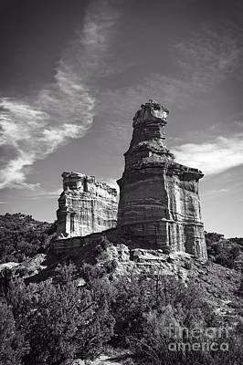 Castle Rock Photograph - Lighthouse Peak And Castle Rock by Charles Dobbs