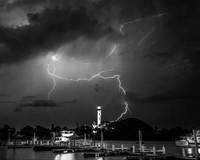 Photograph - Lightning by Christopher Perez
