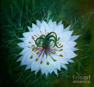 Painting - Lilly by Vivian  Mosley