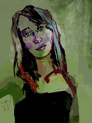 Digital Art - Lily by Jim Vance