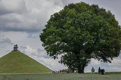 Lion's Mound Art Print