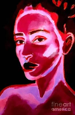 Painting - Lips Of Silence by Helena Wierzbicki