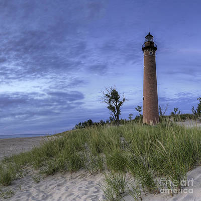 Little Sable Lighthouse Art Print by Twenty Two North Photography