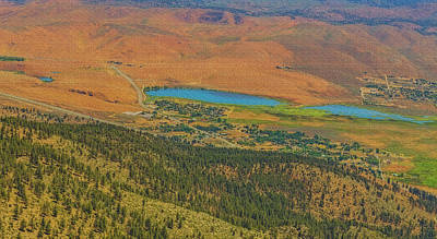Photograph - Little Washoe Lake by Nancy Marie Ricketts