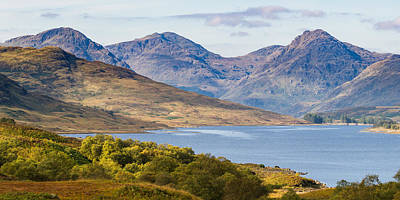 Photograph - Loch Arklet And The Arrochar Alps by Gary Eason