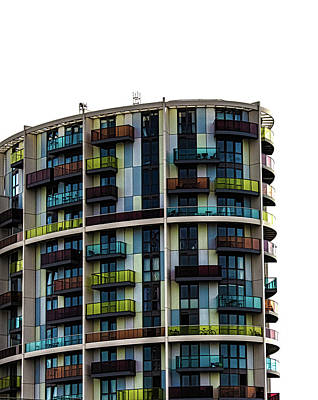 Color Block Photograph - London Architecture by Martin Newman