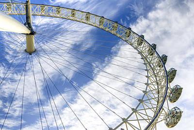 London Eye Mixed Media - London Eye by Svetlana Sewell