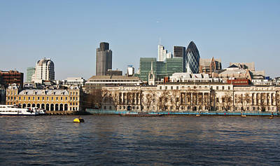 London Skyline Royalty-Free and Rights-Managed Images - London Skyline by Enrico Della Pietra