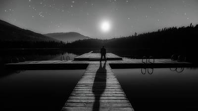 Photograph - Long Shadows by James Wheeler