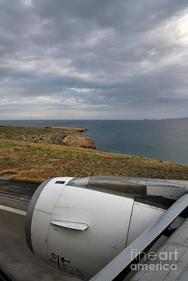 Photograph - Looking Through A Window Of An Airbus A320 by George Atsametakis