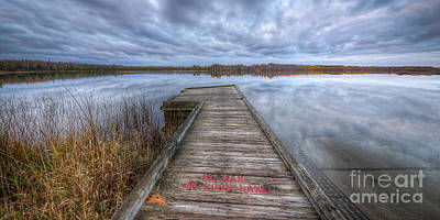 Loon Photograph - Loon Lake by Twenty Two North Photography