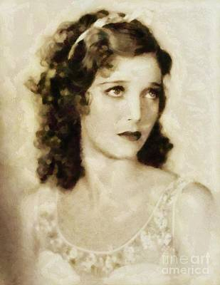 Loretta Young, Vintage Actress Art Print