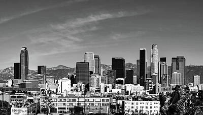 Photograph - Los Angeles Skyline by L O C