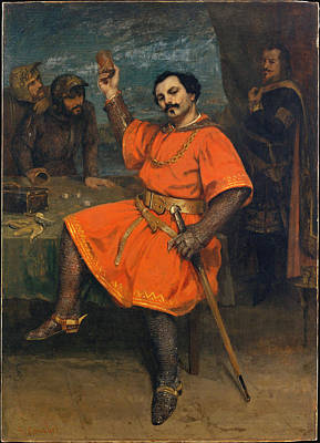Painting - Louis Gueymard As Robert Le Diable by Gustave Courbet