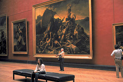 Louve Photograph - Louvre Museum In Paris by Carl Purcell