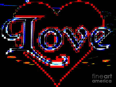 Digital Art - Love by Ed Weidman