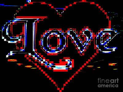 Digital Art - Love by Ed Weidman