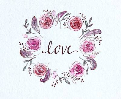 Painting - Love by Elizabeth Robinette Tyndall