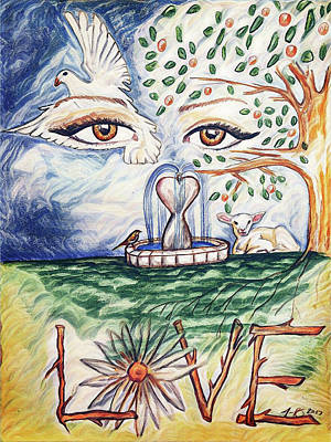 Painting - Love by Jennifer Page