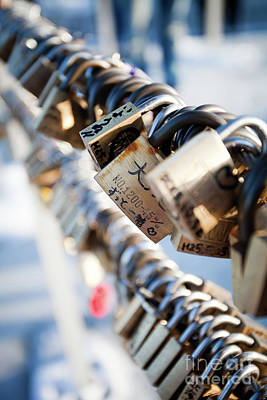 Photograph - Love Locks by Kati Finell