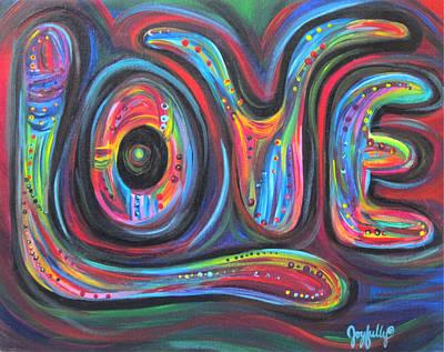 Painting - Love by Melissa Joyfully