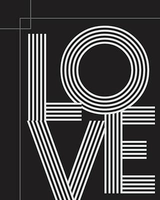 Lovers Mixed Media - Love by Studio Grafiikka