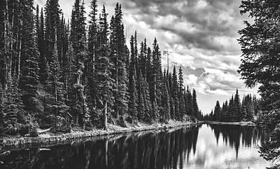 Lovely Lake Irene Art Print