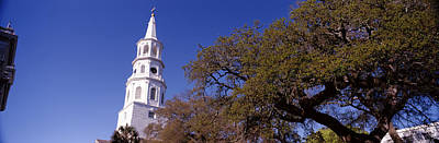 Episcopal Photograph - Low Angle View Of A Church, St by Panoramic Images