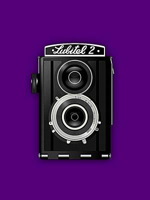 Vintage Camera Mixed Media - Lubitel 2 Vintage Camera Collection by Marvin Blaine
