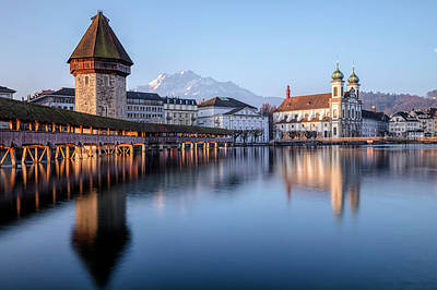 Europa Photograph - Lucerne - Switzerland by Joana Kruse
