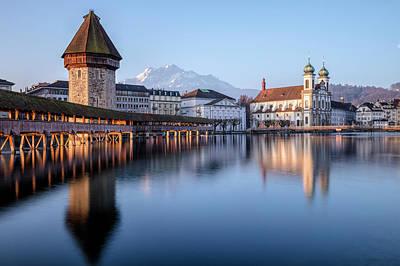 Lucerne Photograph - Lucerne - Switzerland by Joana Kruse
